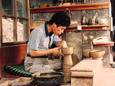 Leach Pottery St Ives - Shigeyoshi Ichino