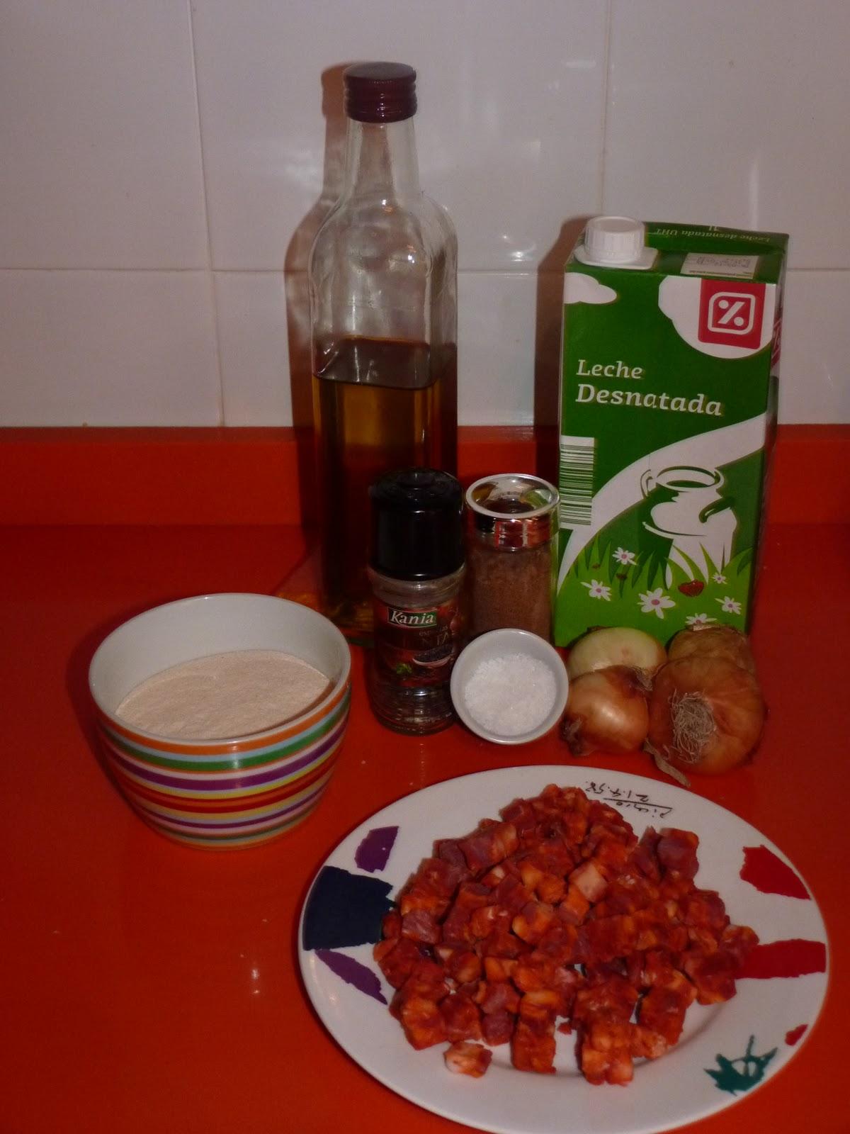 Cocina original y sencilla croquetas de chorizo con thermomix for Cena original y sencilla