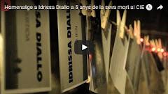 [Vídeo]Homenatge a IDRISSA DIALLO