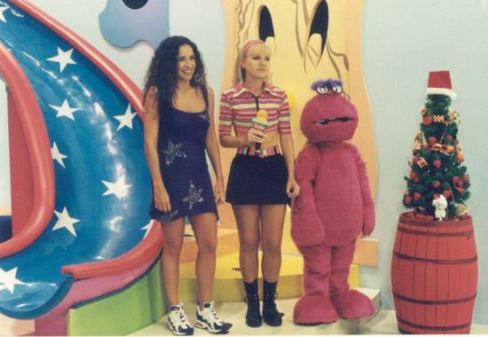 Daniela Mercury, Eliana e Melocoton .