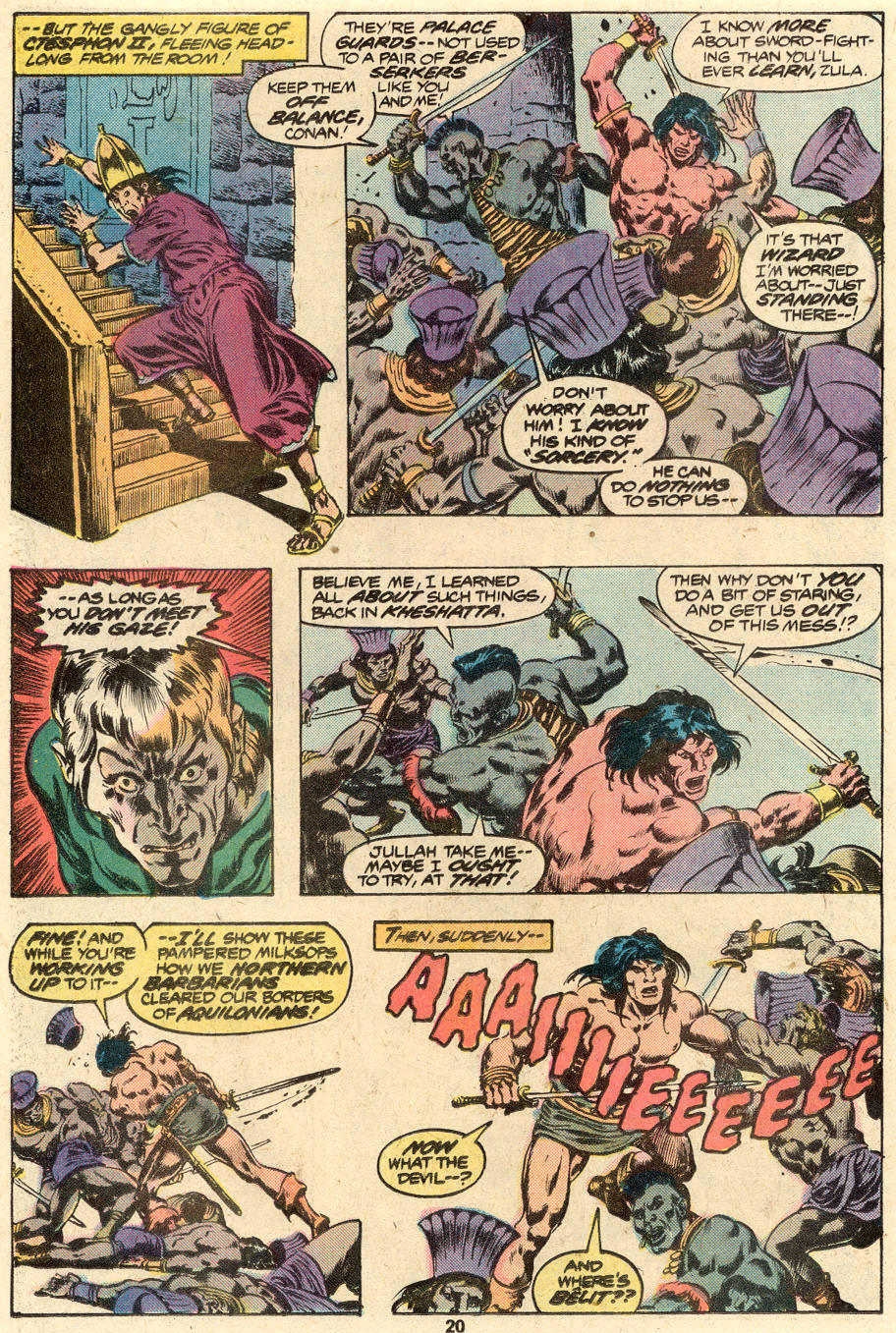 Conan the Barbarian (1970) Issue #88 #100 - English 13