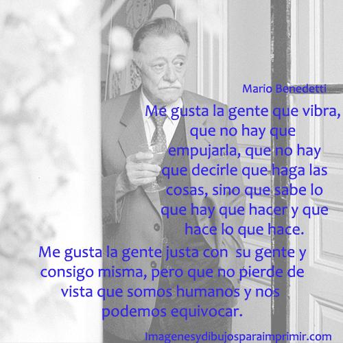 Frase Mario Benedetti