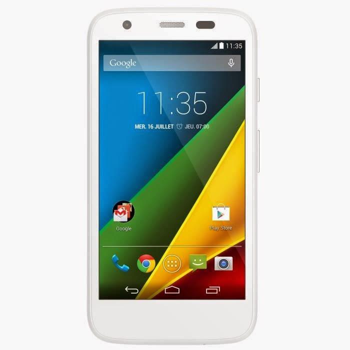 motorola g 4g blanc smartphone 4g comparatif smartphones. Black Bedroom Furniture Sets. Home Design Ideas