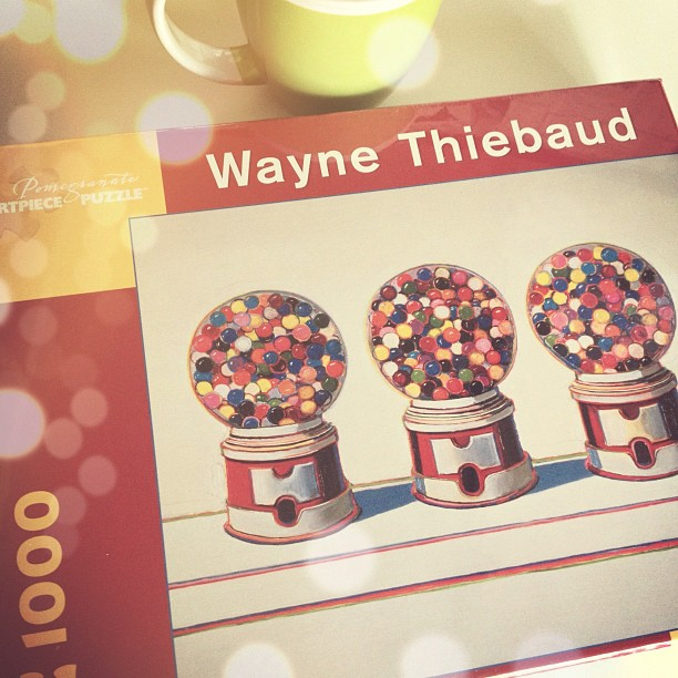 wayne thiebaud art puzzle