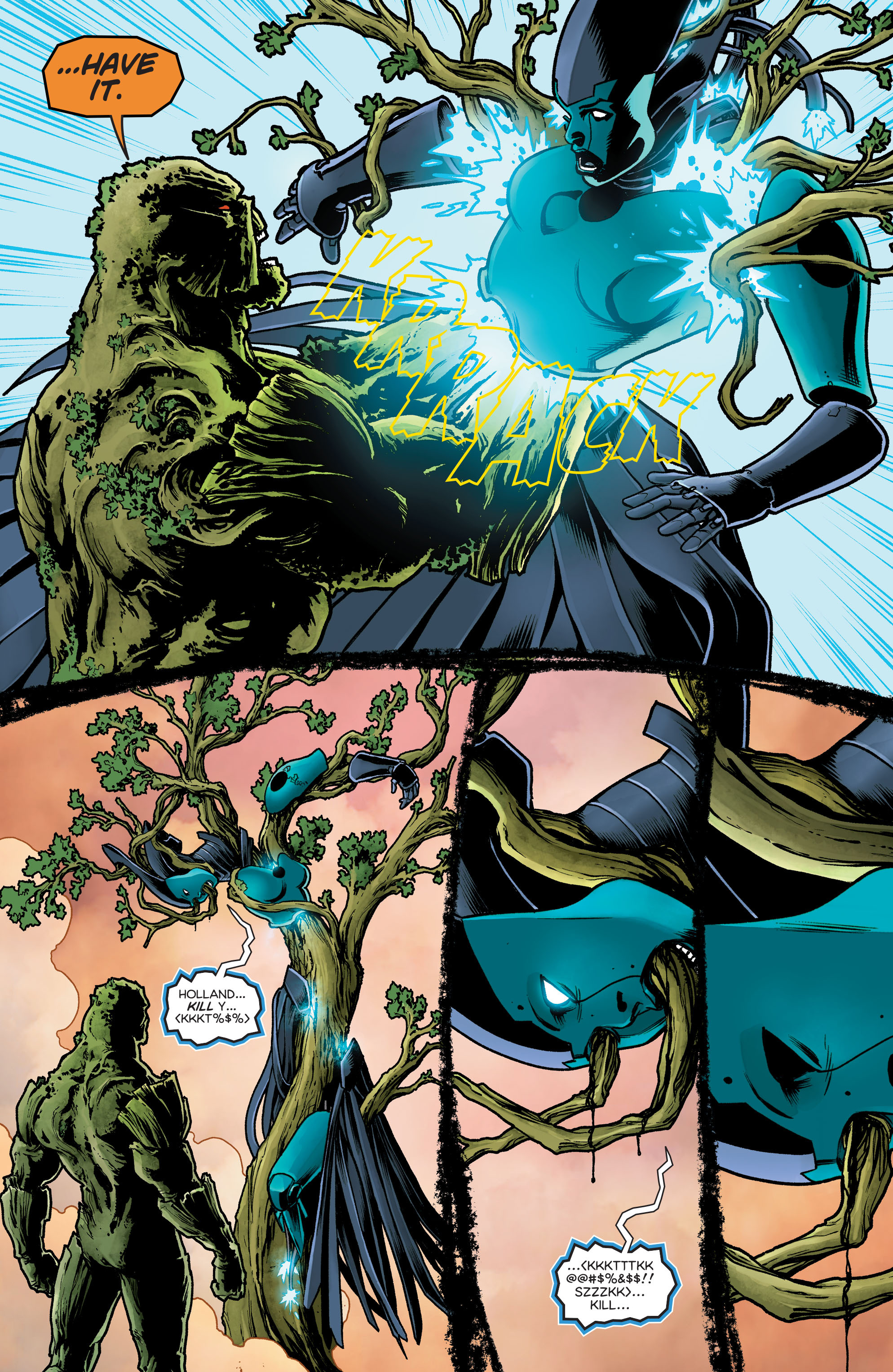 Swamp Thing (2011) Issue #40 #45 - English 23