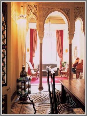Arabian Style Design, interior design,color of arabian style
