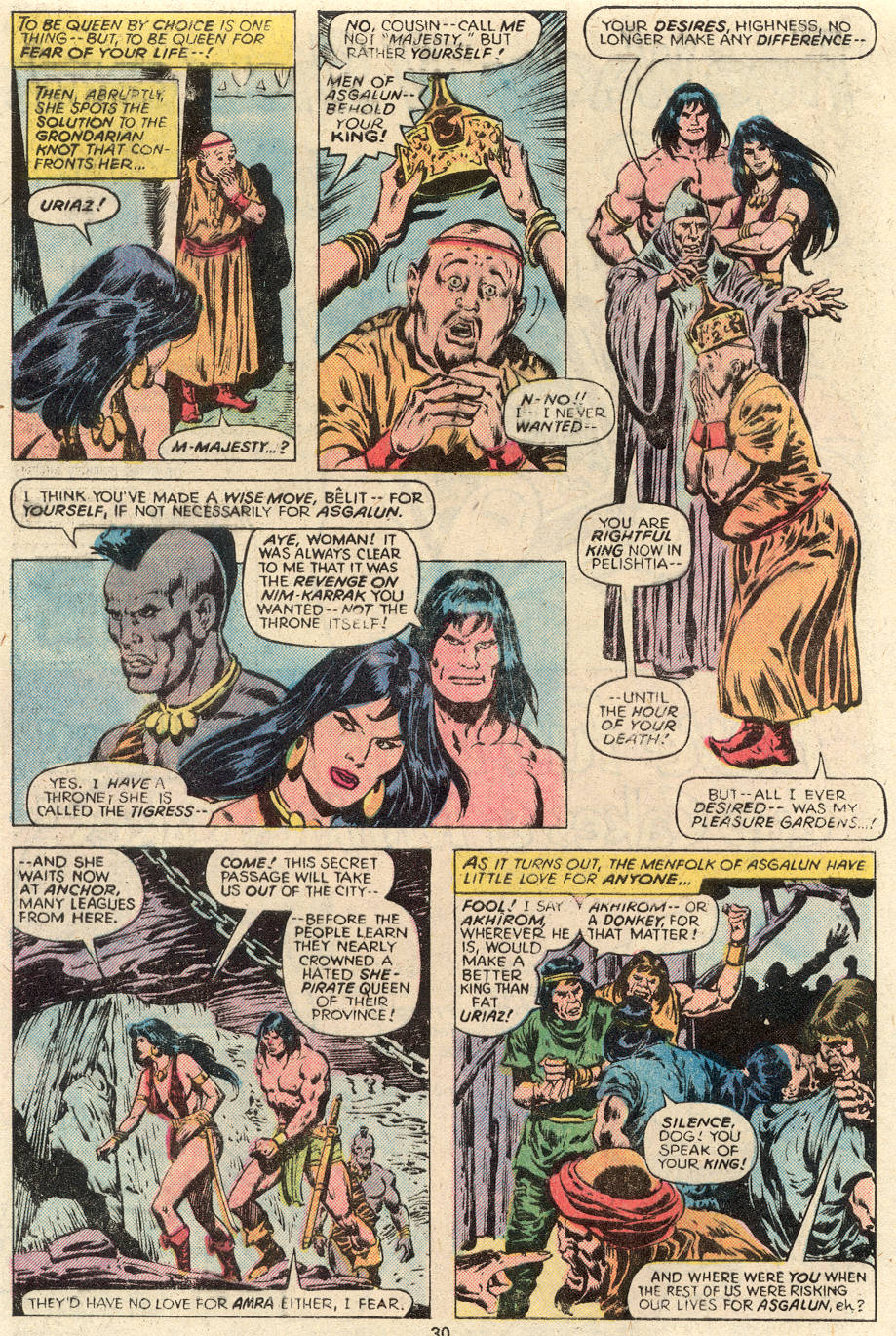 Conan the Barbarian (1970) Issue #93 #105 - English 17
