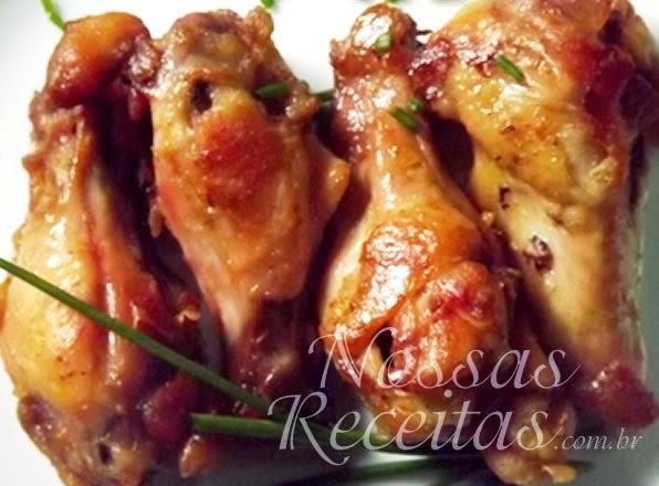 receita de coxinhas de frango preparadas assadas