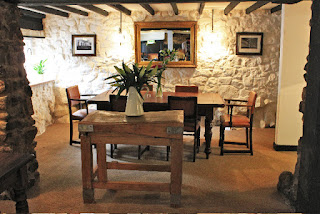 Dining room at The Kings Arms Pentyrch