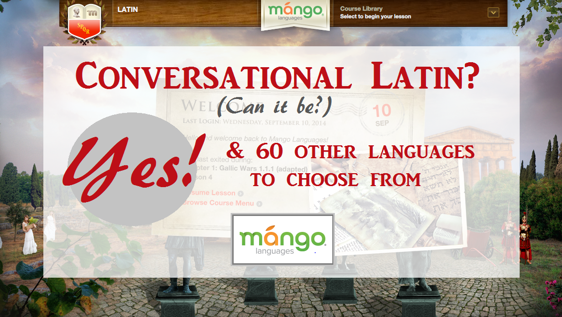 Mango Language Homeschool e-Learning Software