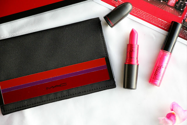 MAC viva glamorous lip set review