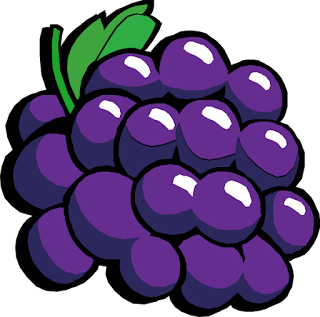 Gambar Kartun Buah Anggur