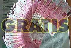 uang gratis, komisi gratis, bisnis online gratis, kerja online gratis, uang internet