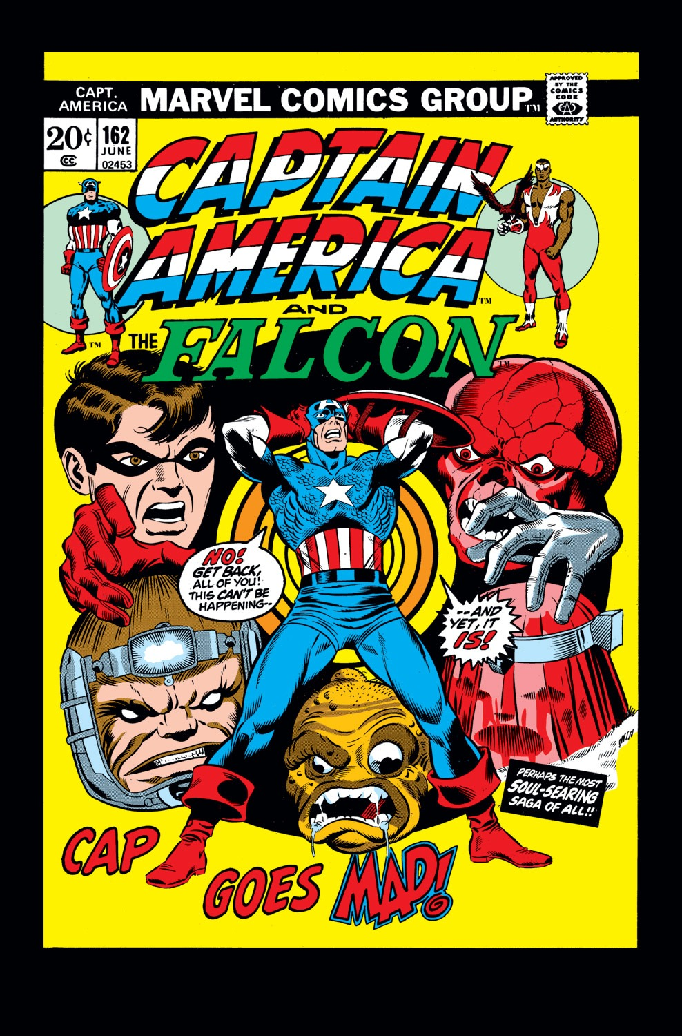 Captain America (1968) Issue #162 #76 - English 1