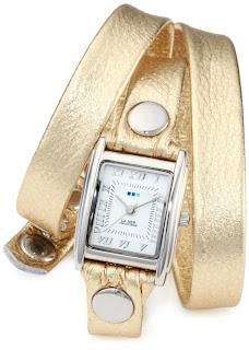 La Mer Gold Watch