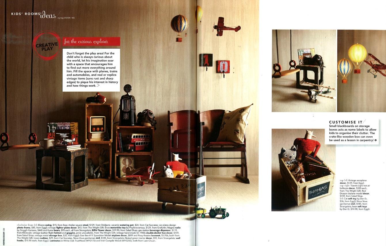 Vivien ng 39 s portfolio home decor magazine kid 39 s room for Home decor mag