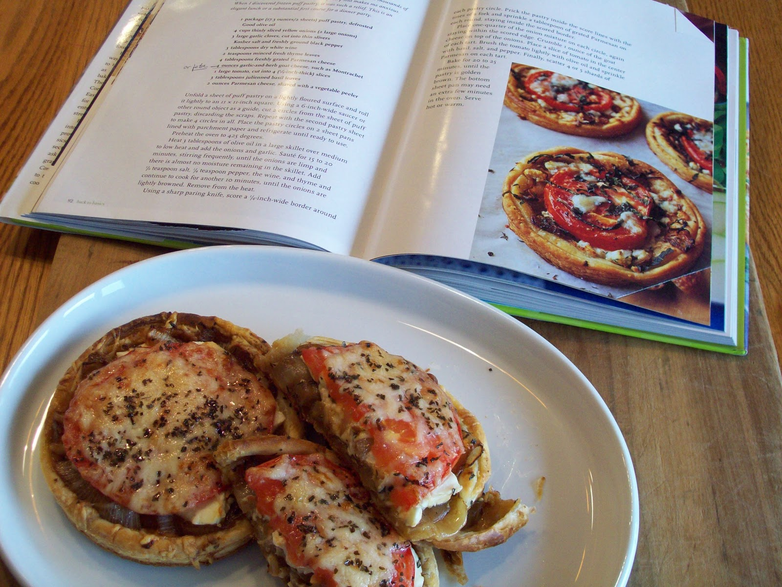 Tracy 39 S Living Cookbook Tomato And Feta Cheese Tarts