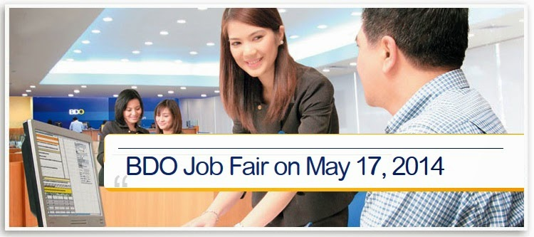 BDO Job Fair May 2014