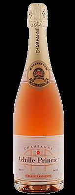 achille princier champagne rosé