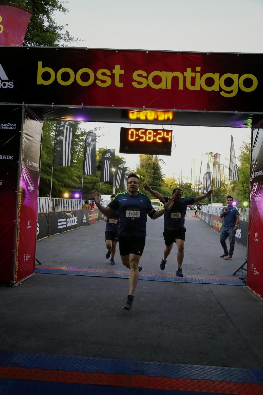 Llegada Santiago Boost