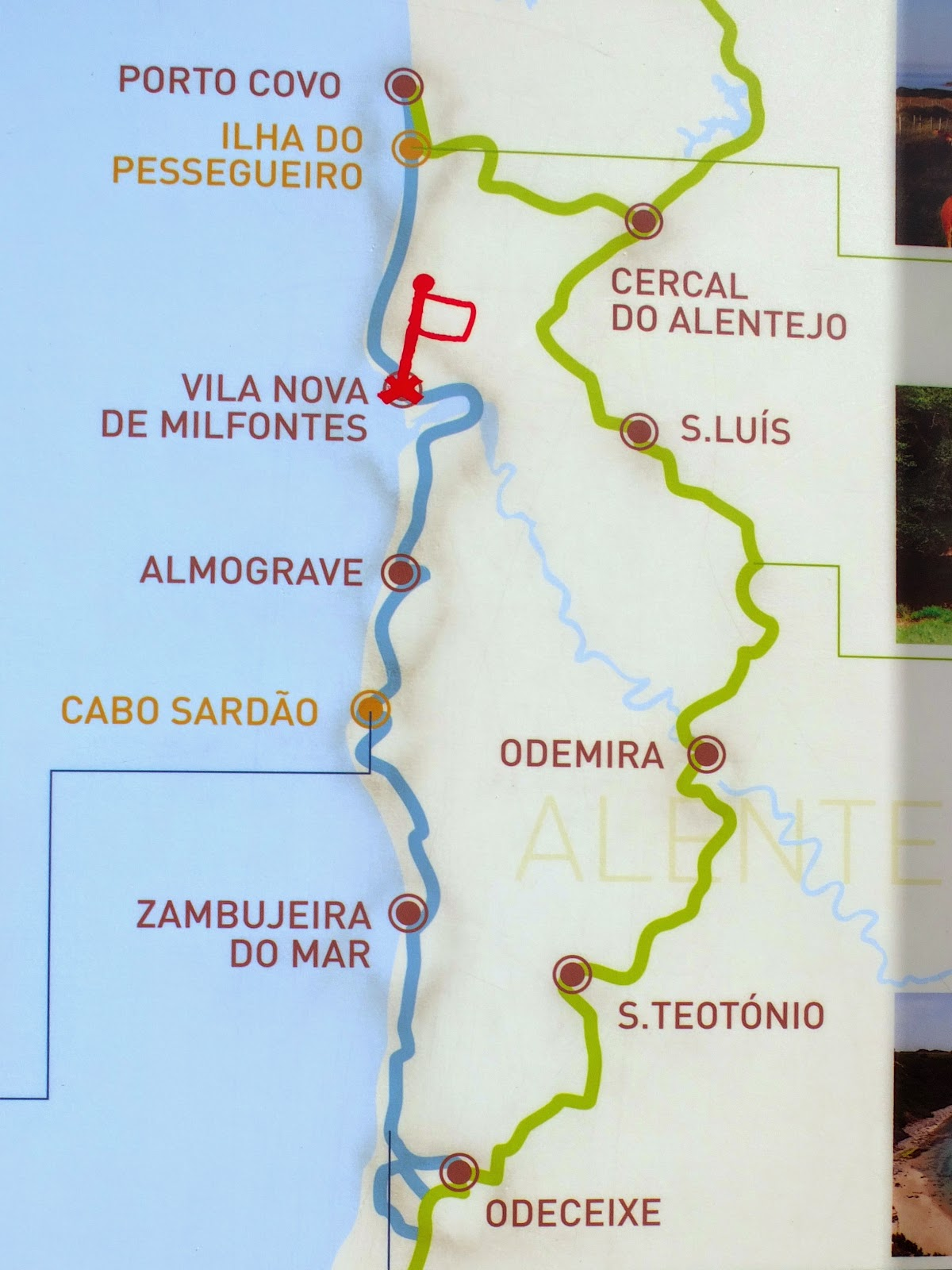 Hiking The Fishermans Trail Rota Vicentina Portugal Travel - Portugal hiking map