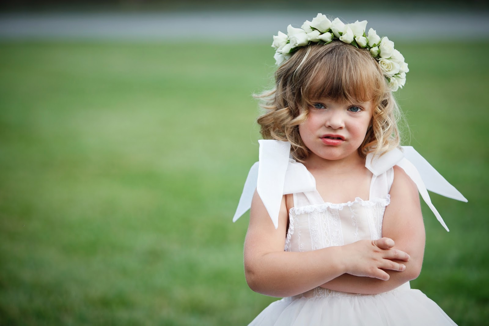Lisa foster floral design flower crowns and halos typically a flower crown has been used for the flower girl or junior bridesmaids to adorn their little heads izmirmasajfo Gallery