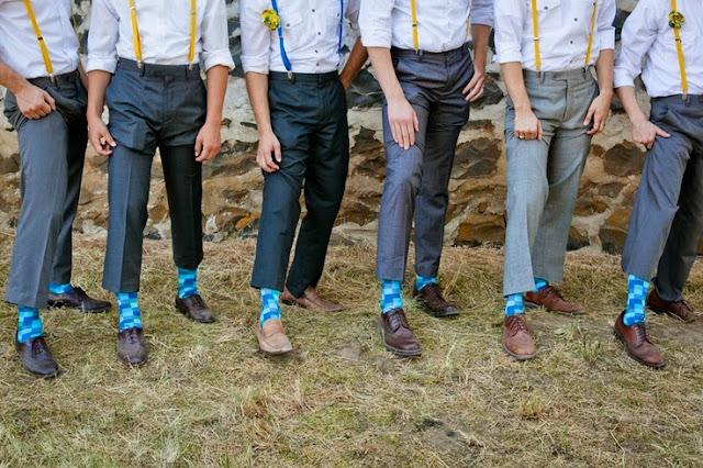 wedding socks inspiration calcetines novio moda interior ideas