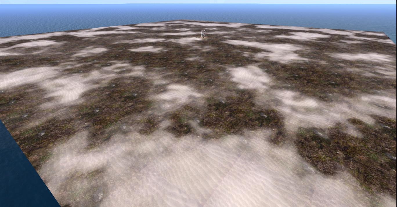 sim opensim terrain flat
