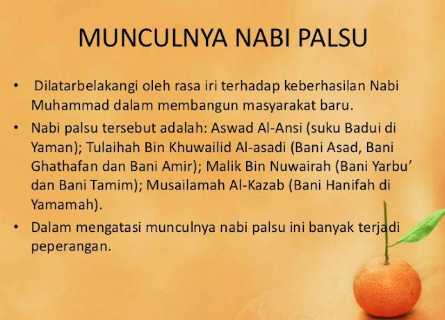 Benarkah Nabi Muhammad SAW adalah Nabi Palsu