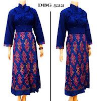 Baju Setelan Gamis Batik