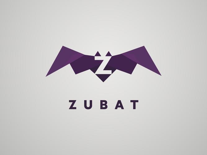 Logo basado en el personaje Pokémon Zubat