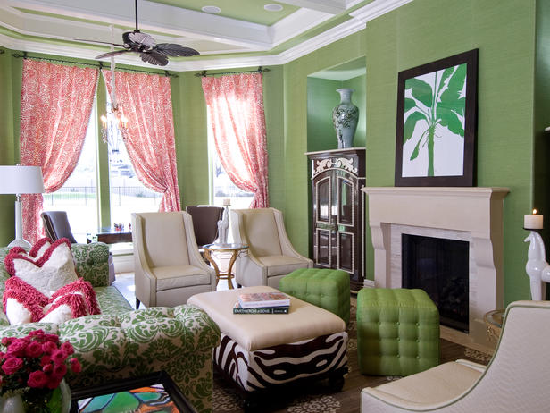 Color palette living room