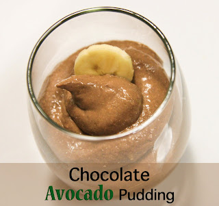 ... none other than avocado as per usual i discovered this avocado pudding