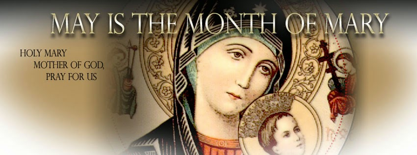 Image result for mary month of may