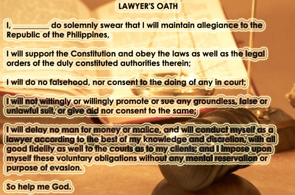 Attorney Oath