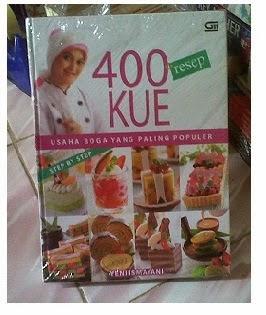Buku 400 Resep Kue oleh Yeni Ismayani