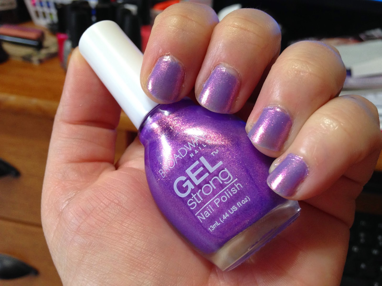 Small Budget Beauty: Broadway Nails Ultra Violet