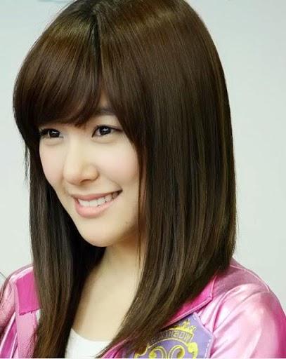 Model Rambut Wanita Sebahu Ala Korea 3