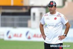 Ricardo Gomes conquistou o respeito de todos no Vasco.