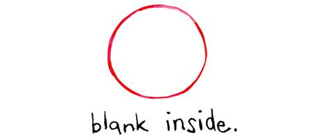 Blank Inside.