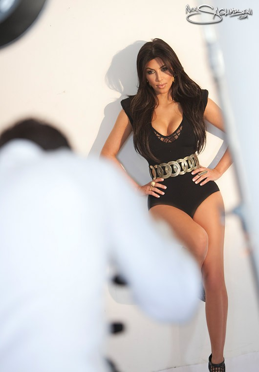 Kim Kardashian – Photoshoot by Nick Saglimbeni