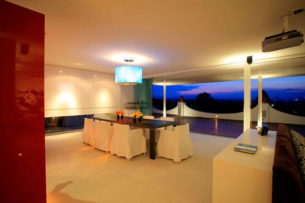 Casas minimalistas y modernas penthouse minimalista en for Casa minimalista guadalajara