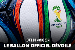 ballon officiel de la Coupe du monde 2014
