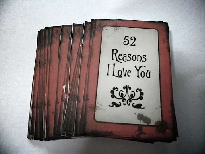 52 reasons why i love you template powerpoint - the epitome of my life 52 reasons i love you