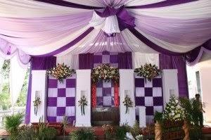 khidmat decoration: dekorasi pelaminan dan tenda