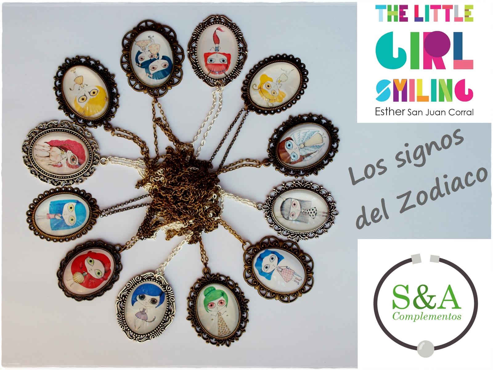 S a complementos smiling collection collares los signos - Signo del sodiaco ...