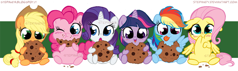 Friendship Is Magic Cookies