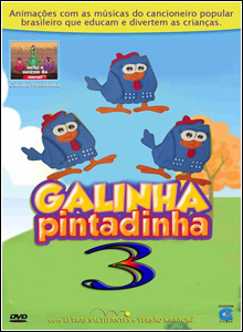 Download   Galinha Pintadinha 3 DVDRip  Nacional