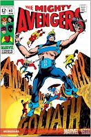 Avengers #63 comic cover