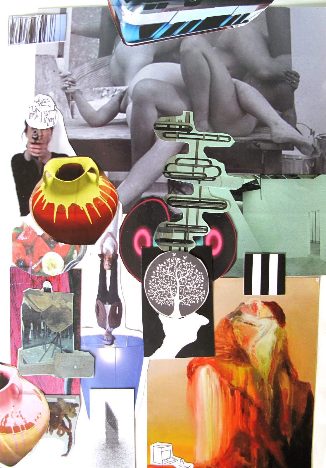 Modernismo anacronico Collage #2